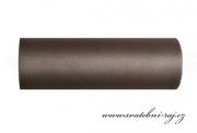 Zobrazit detail - Dekorační tyl hnědý, šíře 15 cm