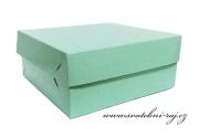Zobrazit detail - Krabička na výslužku mint-green