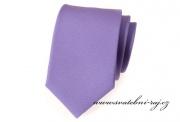 Zobrazit detail - Kravata fialová matná