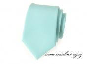 Zobrazit detail - Kravata mint-blue matná