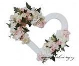 Zobrazit detail - Luxusní srdce zdobené květinami