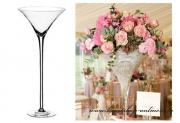 Luxusní váza Martini, výška 40 cm