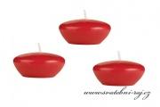 Plovoucí svíčky červené