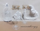 Zobrazit detail - Svatební skleničky Rustic
