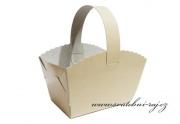 Zobrazit detail - Smetanový košíček na výslužku