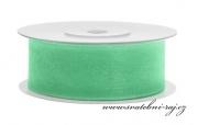Zobrazit detail - Šifónová stuha mint-green, šíře 25 mm