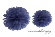 Pom Poms navy blue, průměr 25 cm
