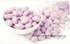 Svatební mandle růžovo-fialové