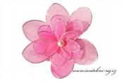Zobrazit detail - Ozdobné květy v růžové barvě