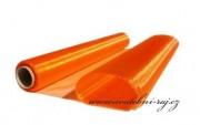 Zobrazit detail - Organza v oranžové barvě, natužená