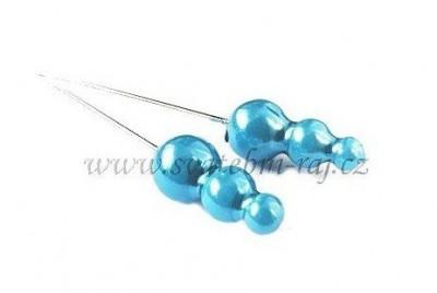 Ozdobný špendlík modrý