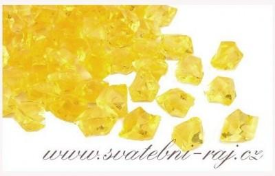 Ledové krystaly žluté