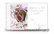 Zobrazit detail - Poděkování za svatební dary