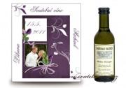 Zobrazit detail - Svatební víno s fotkou
