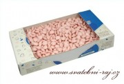 Zobrazit detail - Čokoládová mini srdíčka v růžové barvě