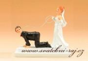 Zobrazit detail - Figurka na svatební dort