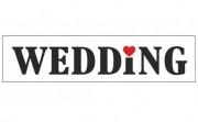 Zobrazit detail - Cedule Wedding