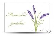 Zobrazit detail - Svatební jmenovka Provence