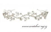 Zobrazit detail - Luxusní štrasový diadém