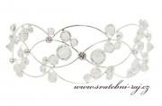 Zobrazit detail - Luxusní křišťálový diadém