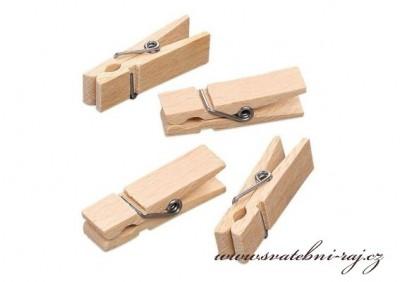Malé dřevěné kolíčky