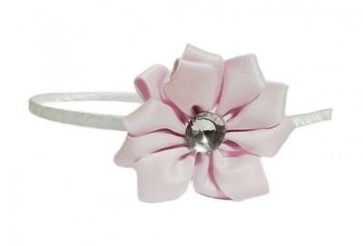 Čelenka s růžovým květem 739f1f4ec3