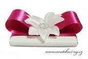 Zobrazit detail - Svatební čokoládka s kvítkem