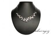 Zobrazit detail - Nádherný svatební náhrdelník