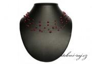 Zobrazit detail - Červená perličková pavučinka