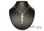 Svatební náhrdelník s perličkami