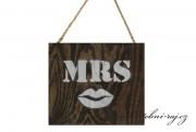 Zobrazit detail - Dřevěná tabulka - MRS s pusinkou