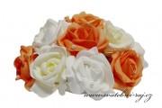 Buket z pěnových růží