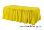 Zobrazit detail - Rautová sukýnka - žlutá