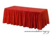 Zobrazit detail - Rautová sukýnka - červená