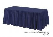 Zobrazit detail - Rautová sukýnka - tmavě modrá