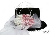 Zobrazit detail - Cylindr s růží a květem magnolie