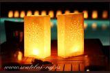 Zobrazit detail - Dekorativní svítilna bílá