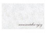 Svatební koberec bílý - šíře 1 m