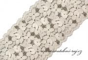 Zobrazit detail - Dekorační krajka šerpa, šíře 16 cm