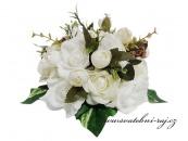 Zobrazit detail - Luxusní kytice na svatební automobil