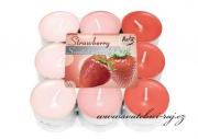 Zobrazit detail - Sada čajových svíček - Strawberry