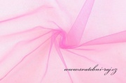 Zobrazit detail - Dekorační tyl malinový, šíře 150 cm