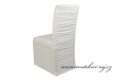 Svatební potah na židli
