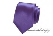 Zobrazit detail - Kravata LUX tmavě fialová