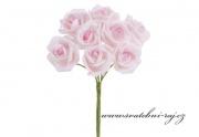 Zobrazit detail - Pěnová růže růžová, průměr 6 cm
