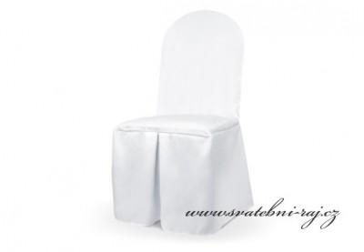 Potah na židli svatební