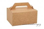 Zobrazit detail - Kraftová krabička na výslužku