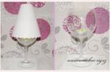 Stínítko na skleničku s vlnkou