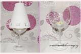 Zobrazit detail - Stínítko na skleničku s motýlky