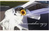 Cylindr na automobil se slunečnicí